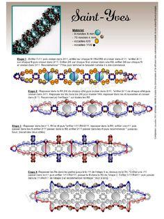 St. Ives Bracelet ~ Free Pattern