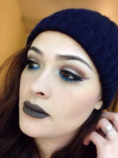 Makeup of the Day: #LINERUPSWEEPS by Valeriamiranda. Enter for a chance to win a $1K Sephora Shopping Spree. Upload your eyeliner look to Sephora.com's The Beauty Board by 10/20/14 and tag it #linerupsweeps.