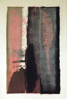 Passages 2 by Karen Darling- oil and cold wax on paper