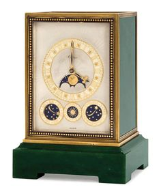 Art Deco eight-day quarter chiming clock, Cartier, circa 1935