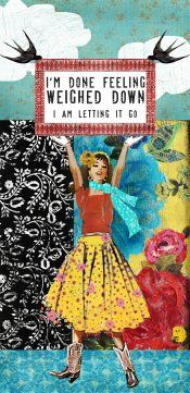 Yes! I'm letting go!... or getting there