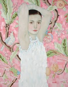 oil paintings, galleri, painting art, ryanpickart, gustav klimt, ryan pickart, artist, portrait, painted ladies