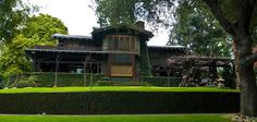 Green & Green (Gamble House in Pasadena), my fave architect team demonstrates CA craftsman style perfectly.
