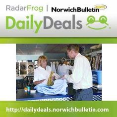 Do you have dry cleaning on your to-do list? If so, you'll want to take advantage of this deal. We're offering a $20 voucher for Westgate Dry Cleaners (Norwich) for ONLY $10. Get the deal here: http://dailydeals.norwichbulletin.com #DailyDeals