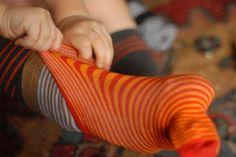 @lady i swear by all flowers, delicious stripey sock love
