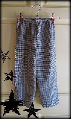 Pillowcase pajama pants!