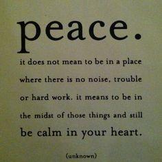 Shanti, shanti, shanti peace, word