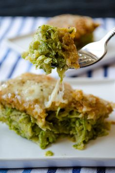 Skinny Zucchini Casserole by giverecipe #Casserole #Zuccchini #Light