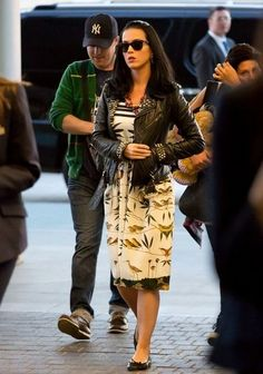 Katy Perry (June 2013), cute vintage inspired dress. <3