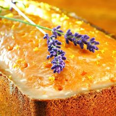 Lavender lemon pound cake - where have you been all my life?