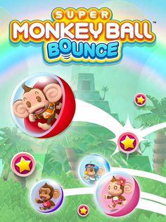 Super Monkey Ball Bounce App by SEGA