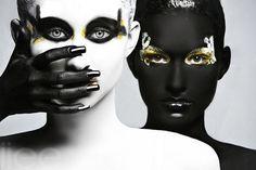 engagement portraits, makeup, art, photography design, black white, inspir, fashion photographi, fashion photography, eye