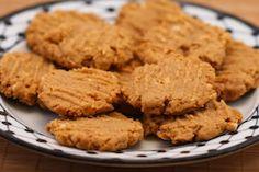 Kalyn's Kitchen®: Recipe for Flourless, Sugar-Free Peanut Butter Cookies (Gluten-Free)  #SouthBeachDiet friendly