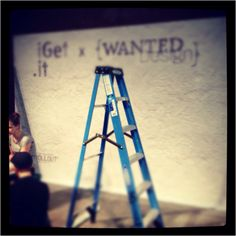 Our very first pop-up store coming alive and taking shape! #wanteddesign #popupstore #nyc #design
