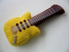 Crochet Guitar   Flickr: Intercambio de fotos