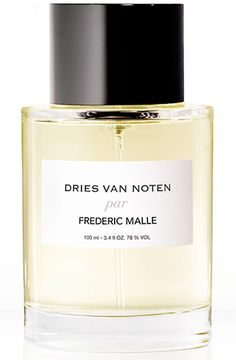 Dries Van Noten par Frederic Malle: the first Perfume Portrait  2013