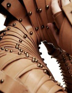 leather armour - una burke