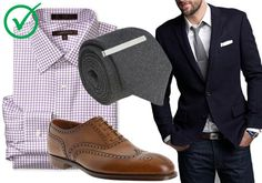 Classic style, wing tips and checks.