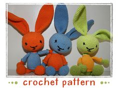 Ravelry: Bunny - Rabbit pattern by Stephanie Risthaus.