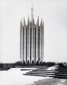 Soviet Architecture by Frederic Chaubin.  Institute of Robotics and Technical Cybernetics, S.Savin B.Artiushin, San Petersburg