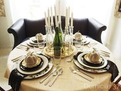 Eclectic Fall Tables
