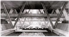 Another amazing sketch by Paul Rudolph.