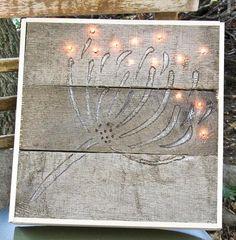 light pallet, pallet art, pallet wood