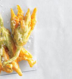 Crispy Fried Zucchini Blossoms