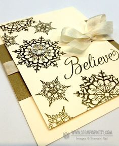 Stampin up stampinup stamp it card idea punch catalog demonstrator holiday christmas