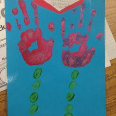 thumbshand feet, fun thumbshand, parent, student hand