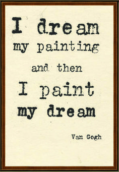 Vincent Van Gogh does have dreamy paintings!