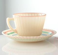 pastel, tea sets, petalwar cup, glass, tea cup, teacup