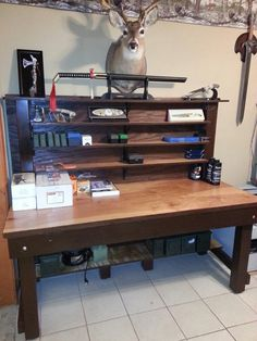 Reloading or Work Bench / Table. Custom made to fit your size with or