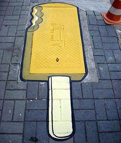 Street art...yum