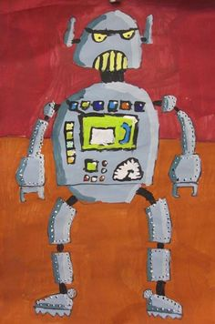 Robot Paintings