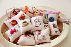 Adorable Embroidered DIY Mini Pin Cushions