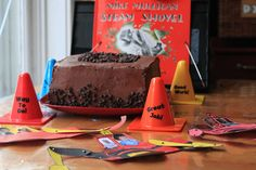Mike Mulligan and His Steam Shovel {FI♥AR}- Neat & Square Chocolate Cake