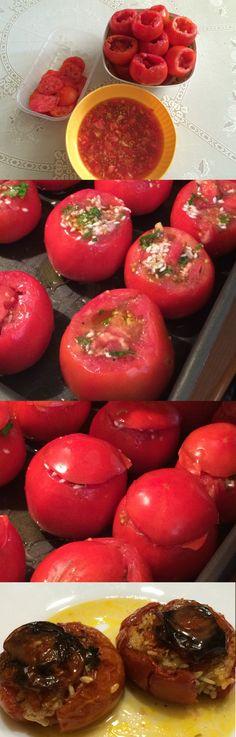 Tomatoes stuffed with rice #italian #italianrecipe #recipe #cooking #hotpeppers #food #foodie #peperoncino www.peperoncinipiccanti.com/pomodori-ripieni-riso