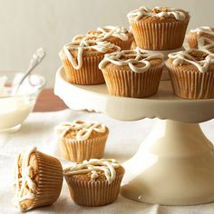 Challenge your love for chai with our favorite Chai Breakfast Cupcakes! They are perfect at any time of the day: www.bhg.com/...