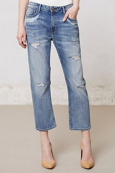 Current/Elliott Weekender Destroyed Jeans #anthropologie