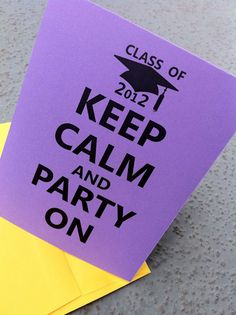 such cute graduation party invites!