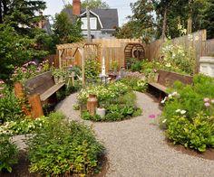 After: Upper Backyard