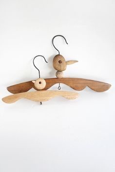 Woody Hangers #FeatherYourNest