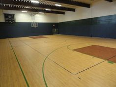 Omnisports 6.5 GreenLay installation in Maple and Classic Oak at Rivendell Academy. Completed in August 2013