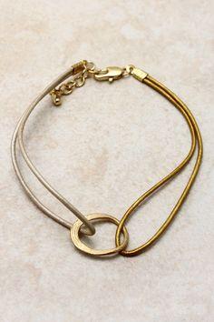 Golden Skylar Bracelet