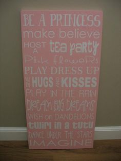 A few dreams for a girly room...