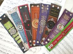 book spine cuffs made from real books all vintage one of a kind and repurposed