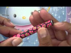 Polymer Clay Pen Tutorial: Using Canes on a Pen! - YouTube