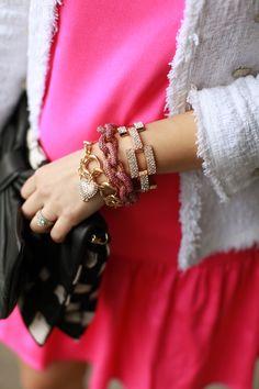 Pave bracelet love