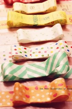 How to make Washi Bows